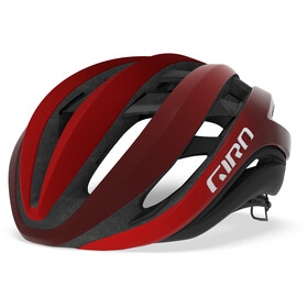 Giro Aether MIPS Cykelhjelm, mat bright red/dark red/black